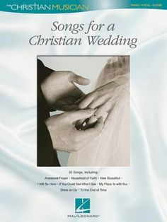 songs for a christian wedding