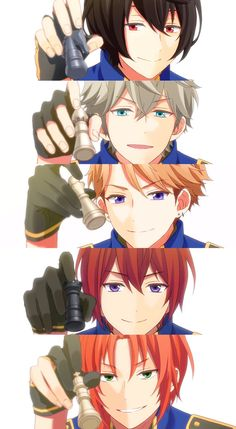 Ensembles stars knights unit