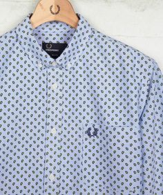 Fred Perry Paisley Print Oxford Shirt  £ 85