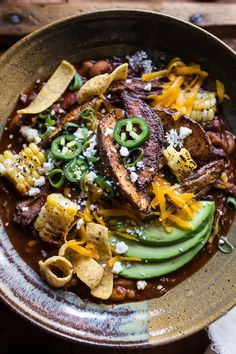 Crockpot Carne Asada Beer Chili