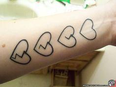 broken heart tattoo - Google Search