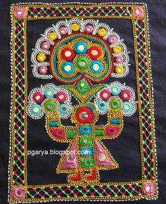 Ahir embroidery, by Preethi G., on 'Stitching Fingers'