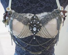 Antique Assuit Tribal Fusion Bra