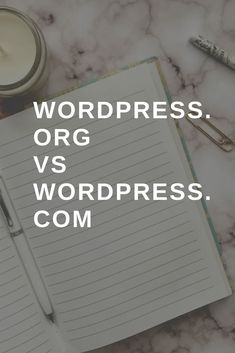 What is the difference between WordPress. com and WordPress.
