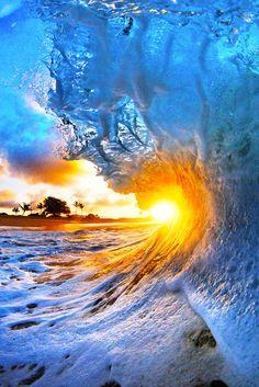 CJ Kale #Sunset #Wave Photo