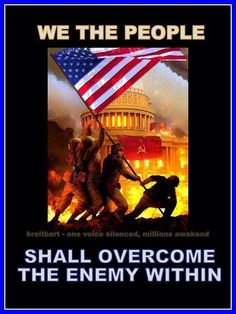 Obama's regime .... WE THE PEOPLE shall overcome the enemy within.