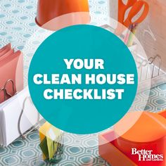 Streamline housecleaning with our handy checklist! Get it here: http://www.bhg.com/homekeeping/house-cleaning/house-cleaning-checklists/cleaning-checklists/