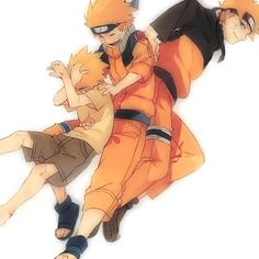 Naruto though the years