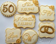 Items similar to Monogram Letter Wedding Cookies, 1 dozen, Decorated Sugar Cookies, Cookie Favors, Wedding Bridal Shower Initial Letter Personalized on Etsy