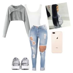 """Untitled #1534"" by aerielle24 ❤ liked on Polyvore featuring NIKE"