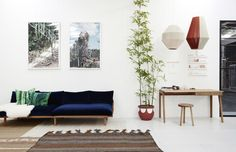 Pop & Scott Showroom by Eve Wilson for The Design Files
