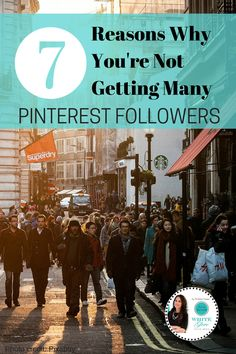 Pinterest Expert Anna Bennett shares 7 reasons why YOU'RE NOT GETTING MANY FOLLOWERS. Make sure that your brand is leveraging trending topics on Pinterest.  Read more at http://www.business2community.com/pinterest/7-reasons-youre-getting-many-pinterest-followers-01079616#dWe6fiEvPYf5F0eQ.99 #PinterestForBusiness #PinterestTips