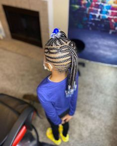 Lil Girl Hairstyles Braids, Little Girls Natural Hairstyles, Easy Toddler Hairstyles, Black Kids Hairstyles, Teenage Hairstyles, Kids Braided Hairstyles, Infant Hairstyles, Little Girl Braids, Braids For Kids