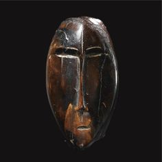 Anthropomorphic Head (Walrus Ivory), Okvik Eskimo, Bering Sea, ca. 200 B. - 100 A. Native Art, Native American Art, Art Inuit, Art Premier, Art Sculpture, Sculptures, Human Head, Canadian Art, African Masks
