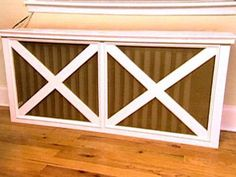 Turn an ugly radiator into a functional piece of furniture. It will take less than a weekend to make and cost less than $100 in materials.