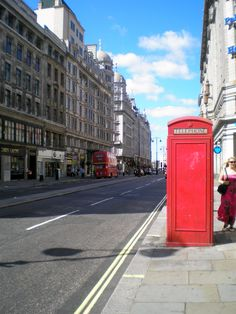 The Strand in London, England.