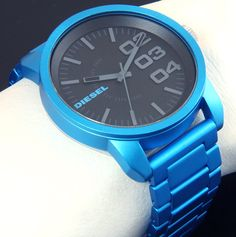 Love this watch by DIESEL.. it reminds me of a blue SWATCH!
