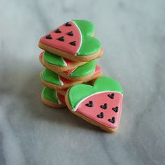 watermelon cookies - substitute 1 teaspoon LorAnn watermelon super strength flavor for the watermelon gelatin and increase sugar to 1 cup.