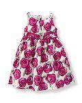Rose Print Dress