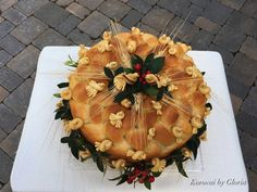 Ukrainian Wedding bread food art/Korovai by Gloria on FB Diy Wedding, Wedding Reception, Wedding Cakes, Dream Wedding, Reception Ideas, Ukrainian Wedding Traditions, Bread Art, Bread Food, Wedding Cake Alternatives