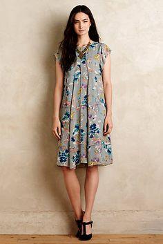 Covent Garden Silk Swing Dress