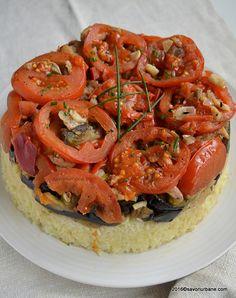 Orez cu legume si carne la cuptor maqluba maklube Savori Urbane (4)