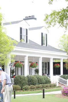 Berckmans Place at the Augusta National Golf Course. Love, Mary Hester