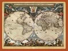 Blaeu wereldkaart, 1641