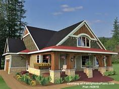 Small One Story Craftsman Style House Plans ...