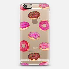 Delicious Donuts on Shine Through Transparent iPhone 6 Case by Perrin Le Feuvre | Casetify
