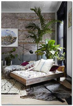Industrial Bedroom Interior (41)