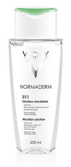Vichy Normaderm 3-in-1 Micellar Water Face Cleanser for Oily Skin