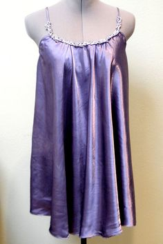 Slip Dress  Vintage Handdyed upcycled by bansheehouseofmake, $40.00