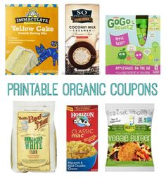 Coupons for Organic Products | Organic Valley, Plum Organics, and More! | http://www.passionforsavings.com/coupon/2015/03/coupons-for-organic-products-organic-valley-plum-organics-more/