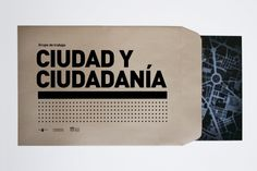Ciudad y Ciudadanía - Folleto    Folleto realizado para el curso Ciudad y Ciudadanía propuesto por el CENDEAC junto con el COAMU (Colegio de Arquitectos de Murcia) y el Obs (Observatorio de Arquitectura y Diseño)