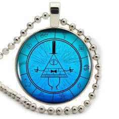 Find More Pendant Necklaces Information about Blue Bill Cipher From Gravity Fall Logo Women Choker Statement Silver Pendant Necklace For Men Dress Accessories DF082340,High Quality necklace storage,China necklace collection Suppliers, Cheap necklace doll from DreamFire Store on Aliexpress.com