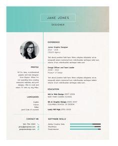 photo on resume