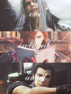 Sephiroth, Genesis, and Angeal