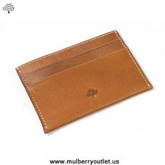 Buy Mulberry Mens Wallet Light Coffee Outlet Sale