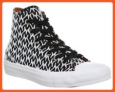 517ca51945 Converse Women s Chuck Ii X Missoni Women s Black-White Sneakers in Size 6  US (