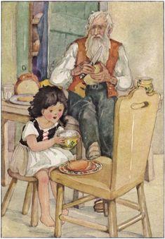 Heidi, illustration by Anne Anderson