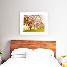 Wondering whats the best art size for above a queen bed Theres no real hard and fast rule but life is easier when you have a starting point so lets take a look at a few examples so you can choose which look you like best. Art Over Bed, Artwork Above Bed, Bedroom Art Above Bed, Master Bedroom, Hanging Artwork, Pictures Over Bed, Bedroom Colors, Bedroom Decor, Decorating Bedrooms