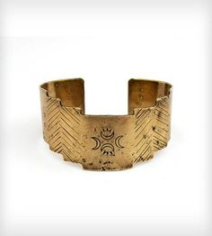 Crescent Totem Cuff by Laurel Hill Jewelry on Scoutmob Shoppe