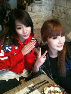 cl and bom 2ne1