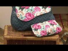 Santa Receita | Aprenda a fazer uma linda bolsa carteiro com Del Carmen - 20 de junho de 2016 - YouTube
