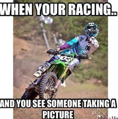For the sweet love of MOTOCROSS! Our ultimate list of motocross quotes are dirty, funny, serious and always true. Check out our favorite motocross sayings Dirtbike Memes, Motocross Funny, Motocross Quotes, Dirt Bike Quotes, Motorcycle Memes, Biker Quotes, Motocross Bikes, Truck Memes, Car Jokes