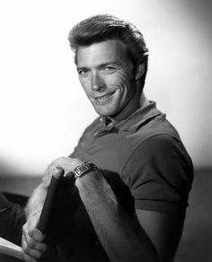 Clint Eastwood made his name as a popular television and film actor, and went on to become an acclaimed filmmaker, directing several Academy. Clint And Scott Eastwood, Actor Clint Eastwood, Ray Charles, Hollywood Usa, Hollywood Actor, Vintage Hollywood, Classic Hollywood, Star Wars, Good Looking Men
