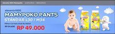 Elevenia Kids: Harga Spesial Mamypoko Pants, 13 Januari – 28 Februari 2015