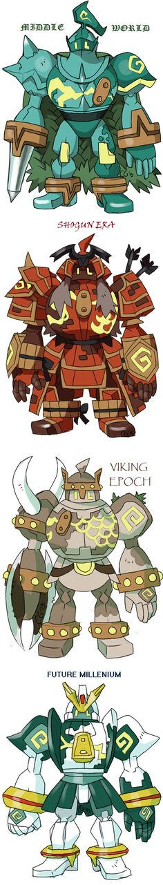 GOLURK+variations+by+Kurigaru.deviantart.com+on+@DeviantArt