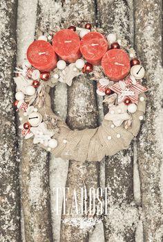 Bohókás adventi koszorú Office Christmas, Christmas Crafts, Christmas Decorations, Holiday Decor, Advent Wreath, Xmas Wreaths, Christmas Inspiration, Macrame, Projects To Try